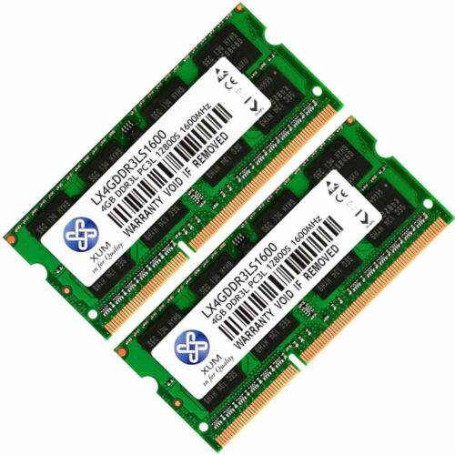 Memory Ram 4 Toshiba Satellite Pro Laptop L850-1DV L850-1EF New 2x Lot