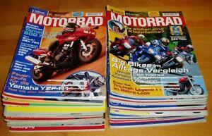 Motorrad-Jahrgang-1998-komplett-Zeitschriften-26-Hefte-Sammlung-motorcycle