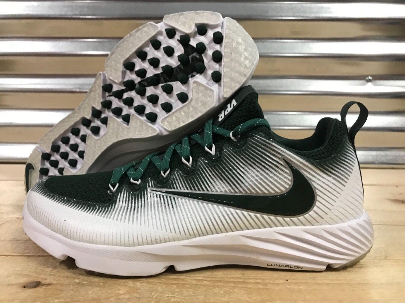 Nike Vapor Speed Turf CF Football Trainer Scarpe Green White SZ ( 848334-331 )