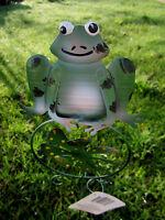 23 Green Frog Yard Art Polka Dot Windmill Garden Stake Decoration