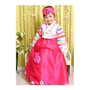 9e575e2d1665 Image is loading Korean-Traditional-Dress-Girls-Hanbok-Cloud-Design-Baby-