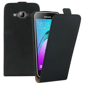 Etui-Coque-Housse-PU-Cuir-Veritable-Flip-Cover-Samsung-Galaxy-J3-2016-J320F