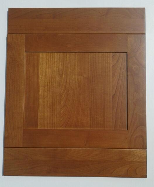 verona solid cherry wood shaker kitchen unit cupboard door & drawers