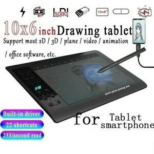 Graphic-Tablet-Drawing-Pad-with-Digital-Pen-Quick-Reading-Pressure-Sense-Gift