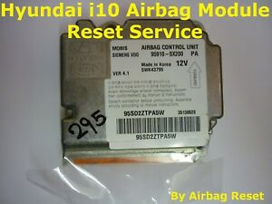 HYUNDAI-i10-AIRBAG-MODULE-RESETTING-SERVICE-CRASH-DATA-REMOVAL
