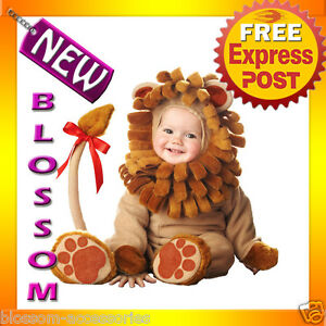 C556-Cute-Lil-039-Lion-King-Elite-Collection-Zoo-Cub-Infant-Toddler-Fancy-Costume
