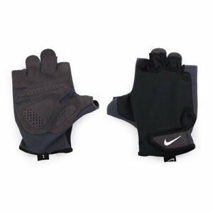 Memorizar Matemáticas Emborracharse  Guantes Para Entrenamiento esenciales Nike ligero levantamiento de pesas  Negro Nuevo | eBay