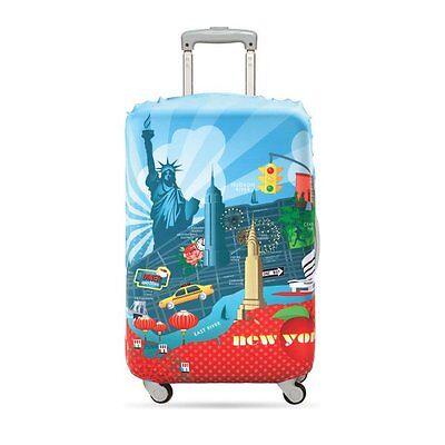 LOQI Urban NEW YORK CITY Kofferbezug - LOQI Urban Luggage Cover NEW YORK