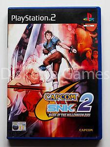 CAPCOM-VS-SNK-2-MARK-OF-THE-MILLENIUM-2001-PLAYSTATION-2-PS2-PAL-ESPANA