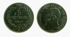 pcc2030_7) Vittorio Emanuele II (1861-1878) 5 Centesimi 1867 Mi