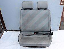 Vw T4 Doppelsitzbank Sitzbank 2er Beifahrersitz Kunstleder klappbar grau