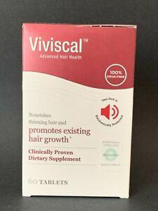 Viviscal Women Hair Growth Program 60 Tablets, EXP:01/2023, Damaged box #S003