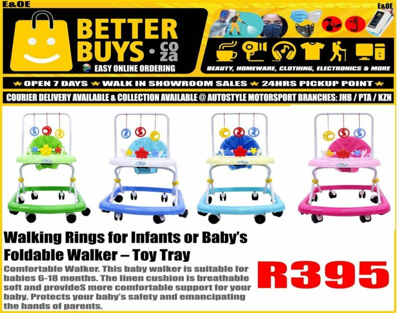 Walking Rings for Infants or Baby's