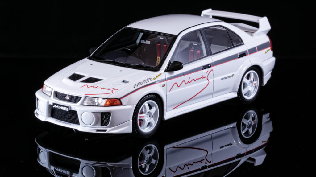 Tarmac works - Mitsubishi Lancer Evo V RS Tuned by Mine's