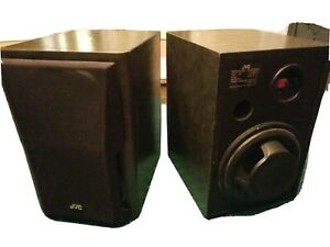Vintage-jvc-speakers-rare-Ux-b1013-30-Watt-3-Ohlm-Japan-Rear-Sub