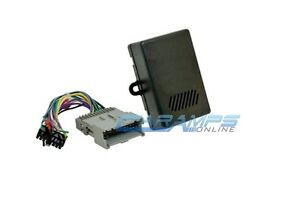 gm car stereo replacement factory interface module w wiring harness rh ebay com