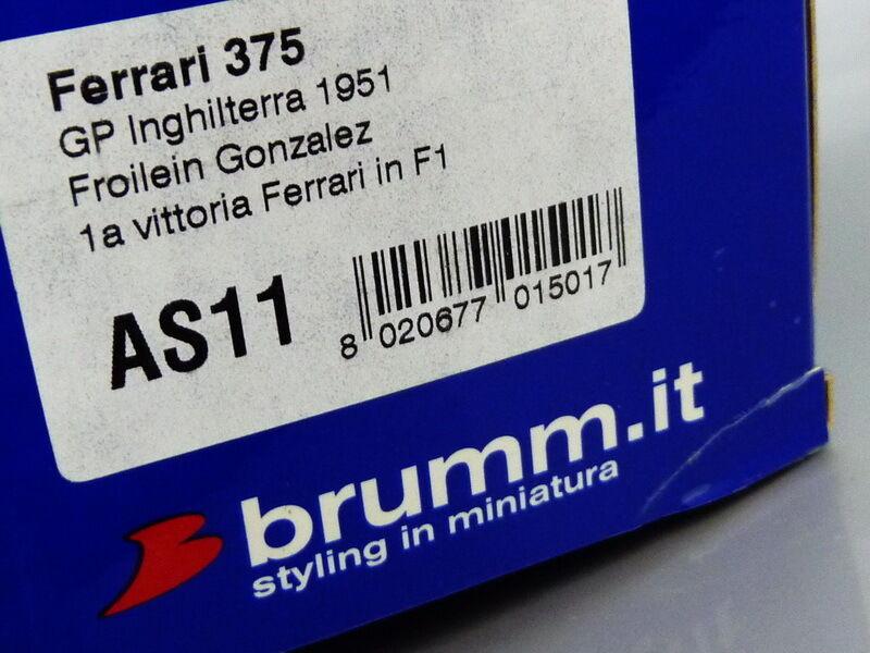 1 43 Brumm FERRARI 375 WINNER INGHILTERRA INGHILTERRA INGHILTERRA 1951 F.GONZALEZ b9f99e