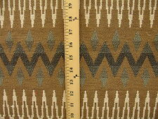 Woven Geometric Southwestern Navajo Aztec Tribal Upholstery Fabric