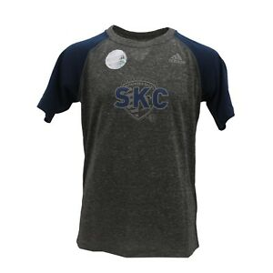d3e38e01 Details about Sporting Kansas City MLS Adidas Kids Youth Size Reflective  Athletic Shirt New