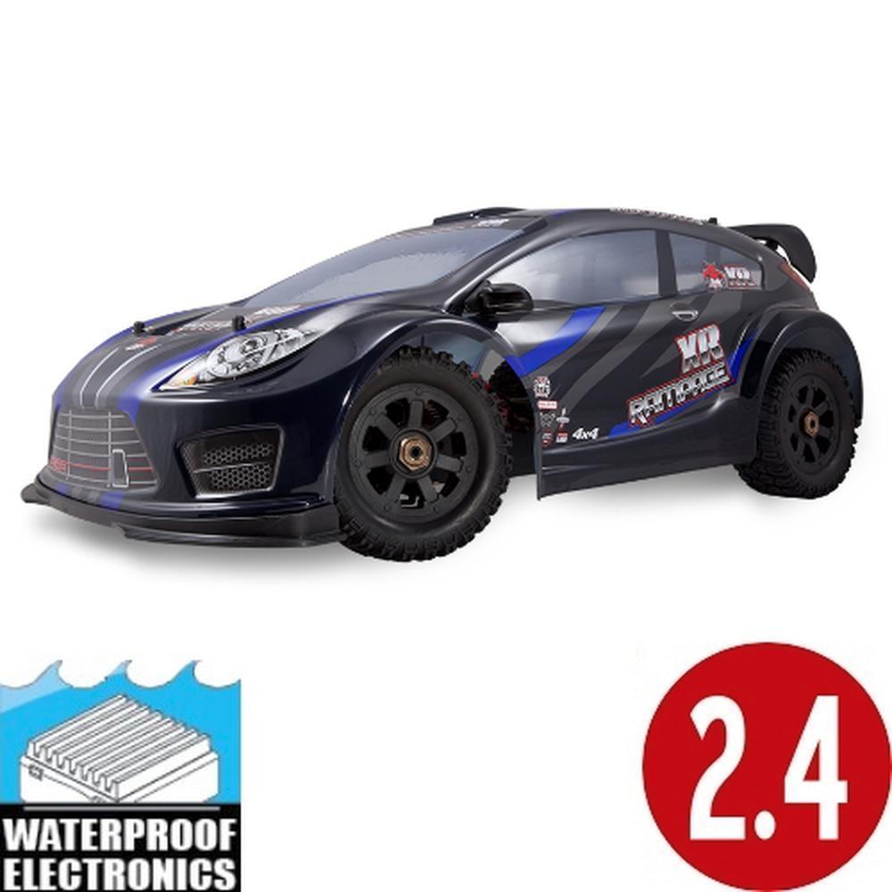 Nuevo rojocat Racing Rampage Xr 1 5 Rally Coche Escala de gas azul sobre carretera