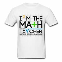 Education Math Teacher Funny Quote Men's T-shirt