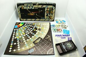 Vintage 1977 Kenner Star Wars ESCAPE FROM DEATH STAR Board Game