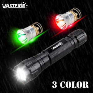 Red Shell UltraFire 501B Flashlight White LED Bulb XP-G R5 1 Mode 4.2V-18V Lamp