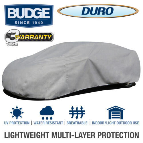 Budge Duro Car Cover Fits Sedans up to 19/' LongUV ProtectBreathable