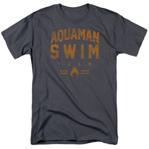 AQUAMAN SWIM TEAM Vintage Style Licensed T-Shirt All Sizes