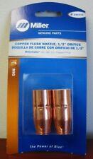 Miller Genuine Copper Flush Nozzle 12 Orifice For Mm140180211 2pk 246372