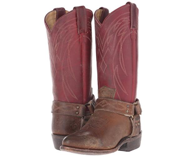 Frye Frye en caja para mujer botas Billy Arnés occidental occidental occidental Borgoña Multi Tamaño 6.5  hasta un 65% de descuento