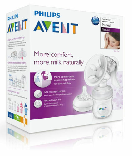 Philips Avent Comfort Natural Manual Sacaleches Scf330//20