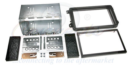 Connects2 CT23VW01A Volkswagen Tiguan 07/> Car Stereo Double Din Facia Plates Kit