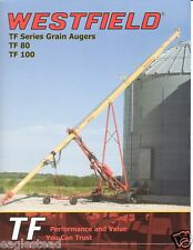 Farm Equipment Brochure - Westfield - TF 80 100 - Grain Auger  (F2921)