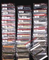[500 pcs]SMA0207 (MK2) Vishay-Draloric Metal Film Resistors 25 Values 20pcs each
