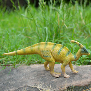 Realistic Parasaurolophu<wbr/>s Dinosaur Toy Educational Model Birthday Gift For Kids