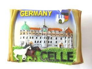 Celle-Magnet-Poly-Rolle-7-cm-Souvenir-Germany-Deutschland-Neu