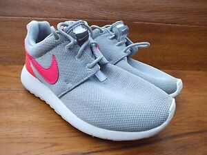 One Nike Pink 35 3 Size Uk 5 Casual Roshe Eu Grey Gs Trainers SSqr5PwR