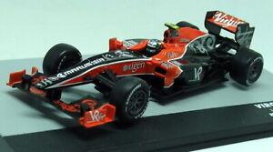 Altaya-1-43-Scale-Virgin-VR-01-Lucas-Di-Grassi-Malaysia-GP-2010-F1-Diecast-Car