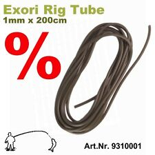 Exori Rig Tube 1mm x 200cm  z.B für Karpfen o. Stör Montagen - Anti-Tangle-Tube
