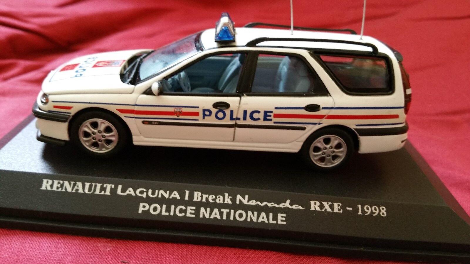 1 43 u-h renault laguna break police box showcase.