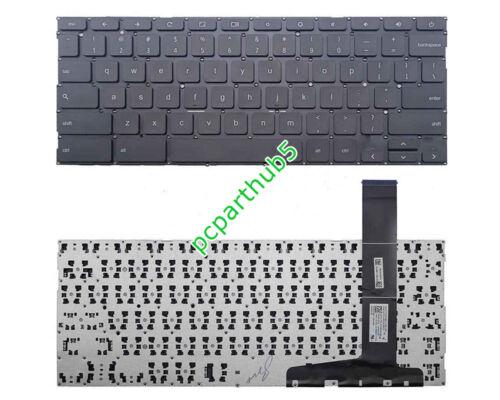 New Asus Chromebook C300 C300M C300MA Series Keyboard US Black NSK-UZ1SQ 01
