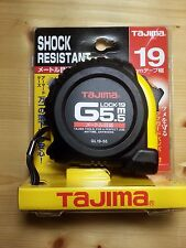 TAJIMA G-Lock Rubber-Grip Automatic TAPE MEASURE GL19-55 5.5M 19mm