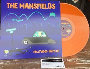 The Mansfields Hollywood Babylon LP Ltd. Ed. Colored Vinyl 2017 Psychobilly Punk