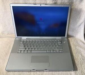"""Apple MacBook Pro A1226 15.4"""" Laptop - MA895LL/A (June, 2007) 4GB 120GB HDD #02"""