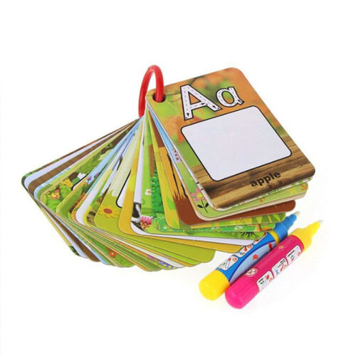 Water Painting Card Graffiti Board Early Childhood Education Letters CognitivePS