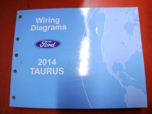 2014 Ford Taurus Original Factory Wiring Diagrams Manual