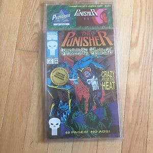 MARVEL-COMICS-THE-PUNISHER-complete-3-issue-set-Limited-edition