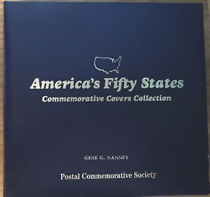America-s-Fifty-States-Covers-Collection-Postal-Commemorative-Society-Complete