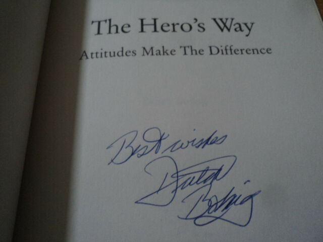 The Hero's Way SIGNED Dutch Boling Attitudes Make The Difference